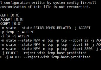 linux(centos)如何开启80和3306端口