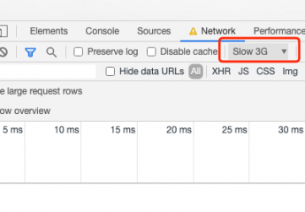 js调试的时候怎么利用Chrome浏览器模拟低网速模式